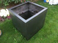 FiberGlass Cube Planter