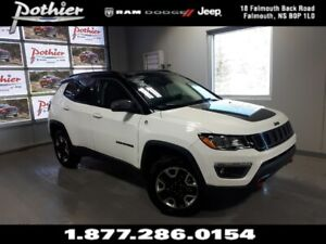 2018 Jeep Compass Trailhawk   LEATHER   SUNROOF   8.4 TOUCHSCREE