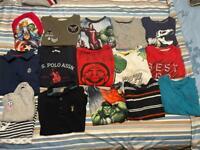 Boys clothes 4-6yrs old ( Huge Bundle)