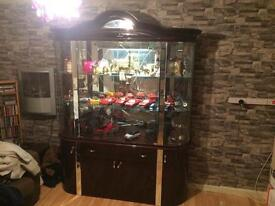 Absolute Show Stopper!! Stunning Glass Display Cabinet