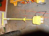 110V 240V TRANSFORMER UNIT BOX, SUIT SITE WORK, INC TROLLEY