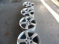MAZDA RX8 ALLOYS 18INCH GOOD CONDITION BARGAIN ONLY £200 OR £50 EACH *LOOK*