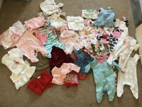 Girls upto 1 month clothes bundle