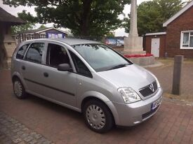 2004 Vauxhall Meriva 1.6, starts and drives superb, excellent condition, MOT until 2nd December