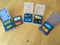Gameboy Genuine Advance Games x10