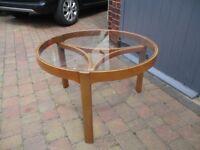 Retro stylish coffee table