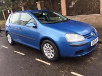 VW GOLF 1.6 Petrol Blue 5-dr 12 MONTHS MOT £1250