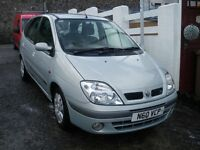 2003 MEGANE 1.6 SCENIC LONG MOT PRIVATE PLATE