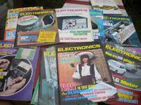 10 1970s PRACTICAL ELECTRONICS MAGAZINES VERY INTERESTING