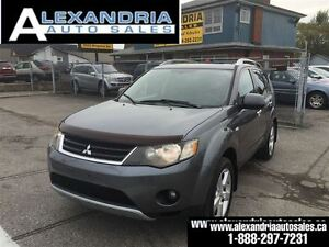 2007 Mitsubishi Outlander XLS LEATHER 7 passengers