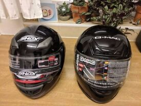 BRAND NEW motorcycle helmets XL (2 still available)