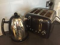 Dualit kettle and 4 slice toaster