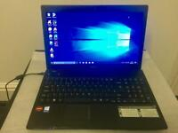 Acer HD 4GB Ram Fast Quad core Laptop 250GB,Window10,Microsoft office,Ready,Excellent condition