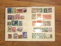 Small Stamp Collection for sale.