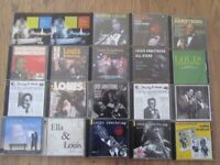 CDs OF LOUIS ARMSTRONG x 80+
