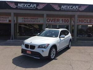 2012 BMW X1 AUT0 AWD LEATHER PANORAMIC ROOF 78K