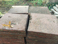 Paving slabs, used