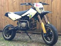 125 road legal pit bike