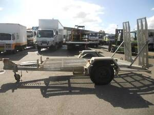 2 Tonne Ex Telstra Galvanised Plant Trailer with sprung ramps. Welshpool Canning Area Preview