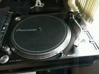 Pioneers DJ Decks, PLX1000, TURNTABLE (PAIR) NOT TECHNICS