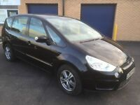 2008 ford s-max 2.0 tdci zetec 7 seater 12 months mot 3 months warranty