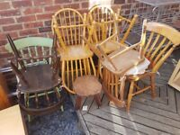 Pine Chairs x 10+