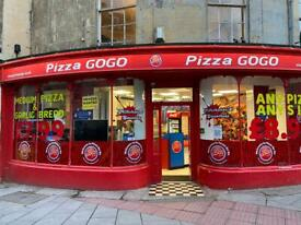 Pizza GoGo Take-Away Business Franchise Pizza Shop A3 Alcohol License