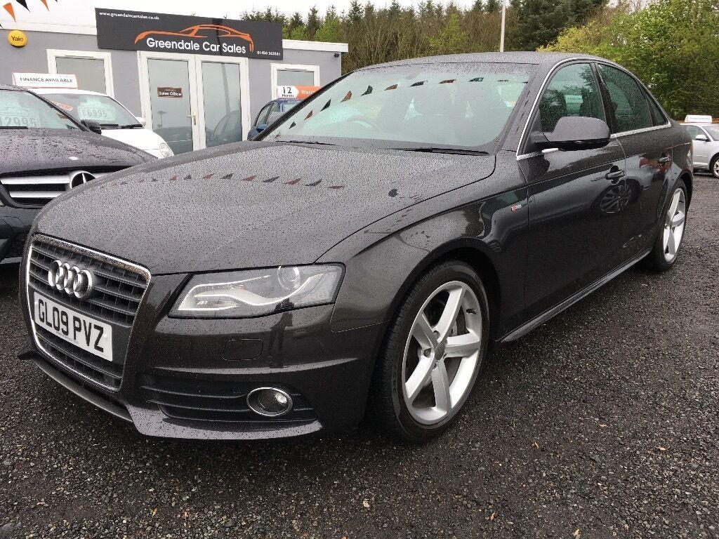 2009 Audi A4 S Line 199 Per Month 12 Months Warranty Finance