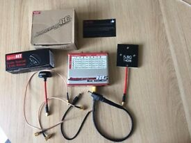FPV!! ImmersionRC Duo5800V4 5.8Ghz Div RX and ImmersionRC TX +bunch of extras *PLEASE READ*