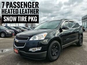 2012 Chevrolet Traverse AWD Leather Dual Sunroof  FREE Delivery