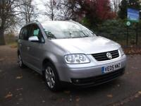 VOLKSWAGEN TOURAN 2.0 TDI PD Sport 5dr [7 Seat] FINANCE AVAILBLE RING ZUTO AND ASK FINANCE 2005