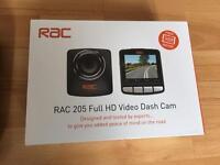 Brand New RAC 205 video dash cam