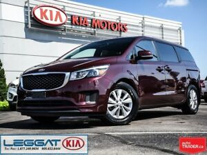 2018 Kia Sedona LX+ -- Accident Free, Back Up Camera, 8-Passenge