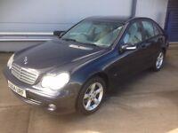 Mercedes c220 cdi auto new mot 04 plate cheep car £850