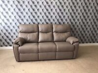 G Plan Henley Leather 3 Seater Sofa