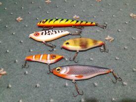 Pike fishing jerkbait lures