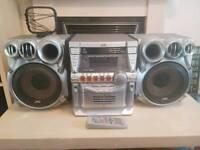Jvc hifi cd player