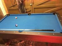 Pool table 7x4 good quality