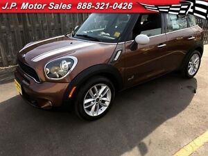 2013 MINI Cooper Countryman S ALL4, Automatic, Leather, Panorami