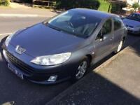 Peugeot 407 diesel 2008 model with full history long mot nice car hpi clear
