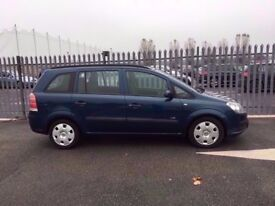 2006 Vauxhall Zafira 1,6 litre 5dr 7 seater
