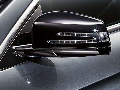 2 Mercedes Benz Außen Aussen Spiegel Zier Gehäuse A B C CLA CLS E GLA S GLK