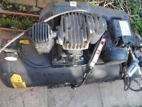 Sip air compressor 150lt, 240v.