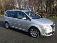 VOLKSWAGEN VW TOURAN SPORT TDI 170 BHP,7 SEATER