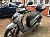 Honda Sh 125 2010 rear disk model 7,000 miles only NEEDS NOTHING MOT Sep 2018 Mint Condition