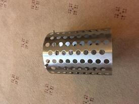 Silver Metal Lampshade