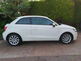 2010 audi A1 1.6 tdi sport t diesel 3 dr almafi white full audi sh £00 tx