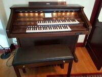 Yamaha AR100 Organ and Stool.