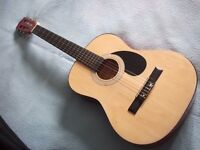 Burswood 3/4 Size Acoustic Guitar & Carry Bag