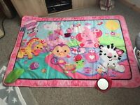 Fisher prices play mat